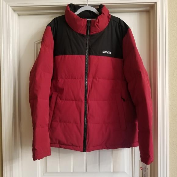 NWT Men's Levi's Heavyweight Puffer Jacket